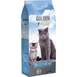 Golden Cat pescado.